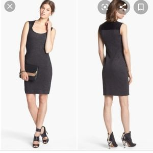 || BAILEY 44 || Small Faux Leather Detail Dress